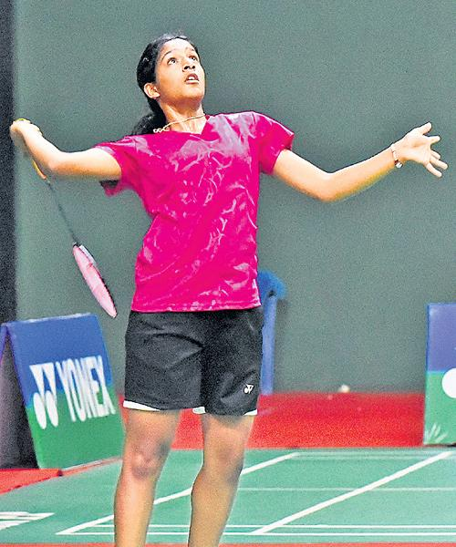 Gayatri Gopichand Enters Quarters of Juniors Badminton Tourney - Sakshi