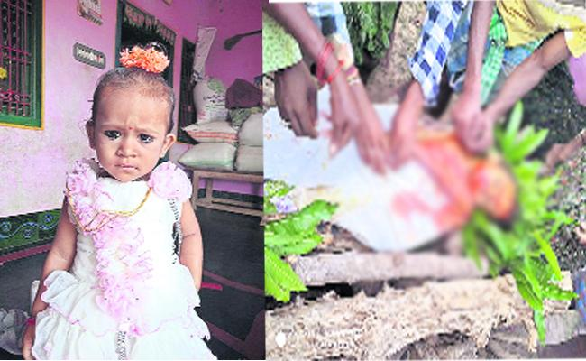 Bricks Fallen On Child In Orissa - Sakshi