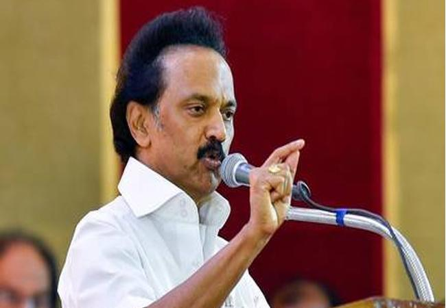 MK Stalin Fires On BJP - Sakshi
