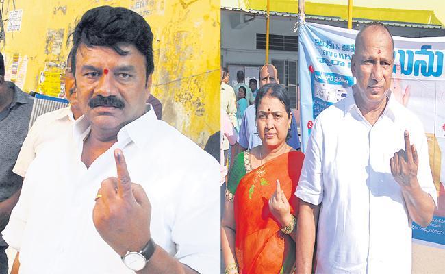 Hyderabad Voters Shock to Talasani Srinivas And Malal Reddy - Sakshi