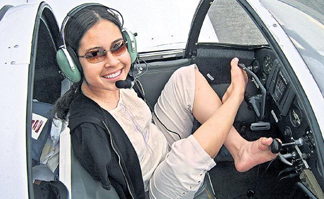 Worlds First Armless Pilot is a Real Life Filipino American Super woman - Sakshi