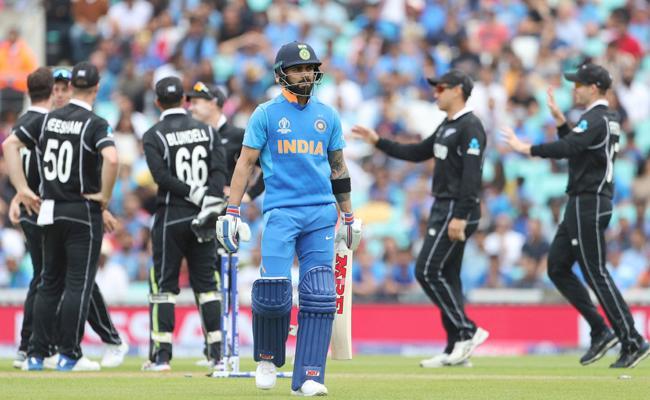 World Cup 2019 Team india Set 180 Runs Target For New Zealand - Sakshi