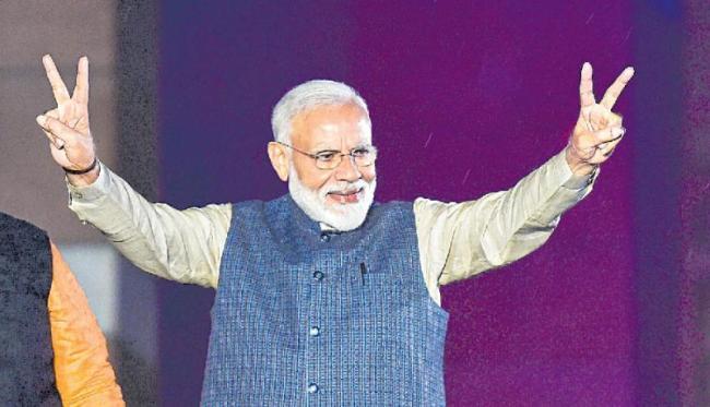 PM's marathon 51-day campaign sees 142 rallies - Sakshi