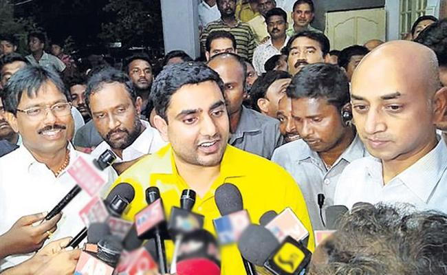 Nara Lokesh Tweet About His Big Loss In Mangalagiri - Sakshi