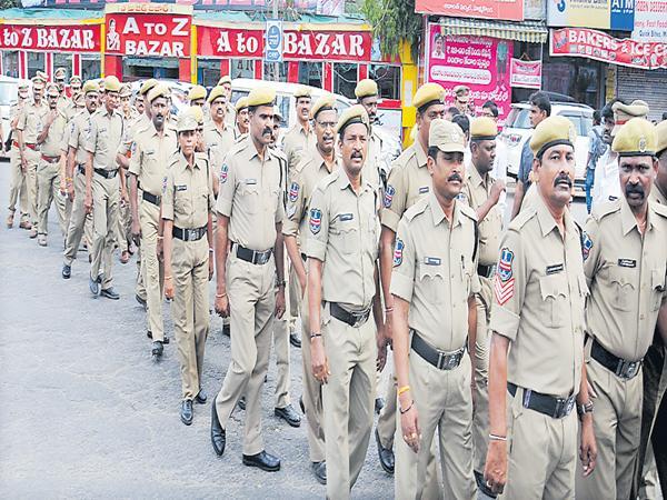 Final key of police examination on 27 - Sakshi
