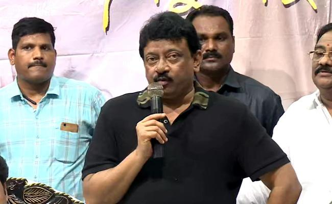 Ram Gopal Varma Press Meet In Vijayawada - Sakshi