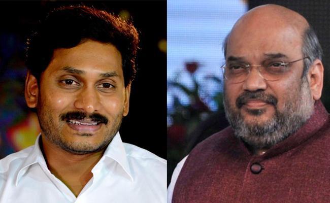 YS Jagan Mohan Reddy Meets Amit Sha - Sakshi