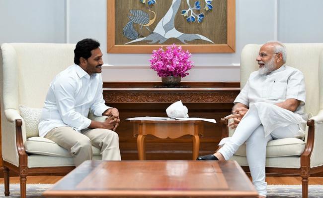 PM Narendra Modi Tweet About Ys Jagan Meet - Sakshi
