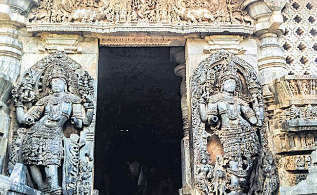 temple gate is the way that the devotees can see - Sakshi