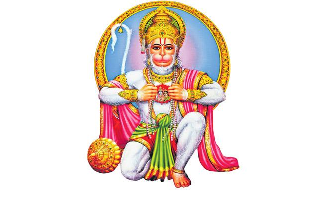 Devotees worship Lord Hanuman as the ideal Goddess - Sakshi