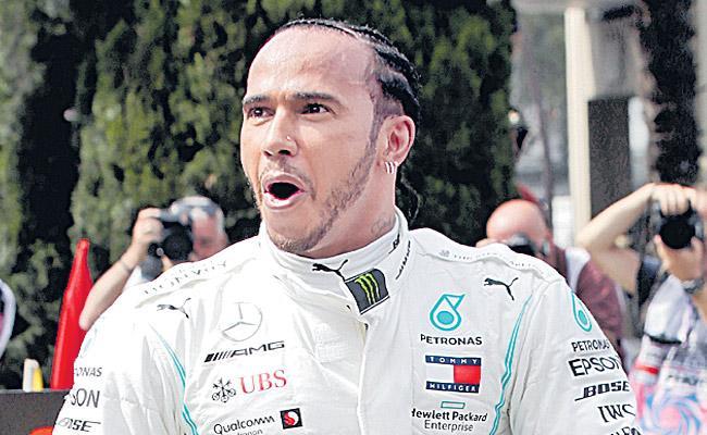 Hamilton is the winner of the Spanish Grand Prix - Sakshi