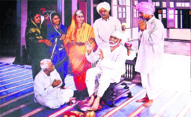 Saibaba Sakshi Telugu Daily Funday News