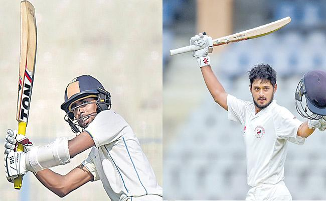 India added 352 runs for the first wicket - Sakshi