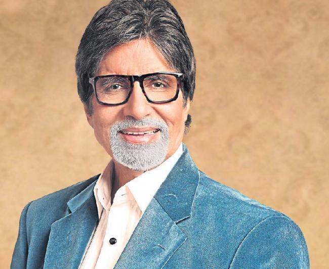 Amitabh Bachchan to play himself in Vikram Gokhale is Marathi film - Sakshi