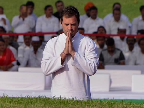 Rahul Gandhi not quitting as president, Says Congress - Sakshi