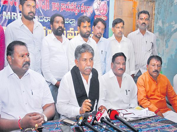 Manda Krishna Madiga Comments On Chandrababu Defeat - Sakshi