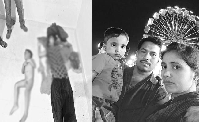 Mother And Son Murdered in Hyderabad - Sakshi