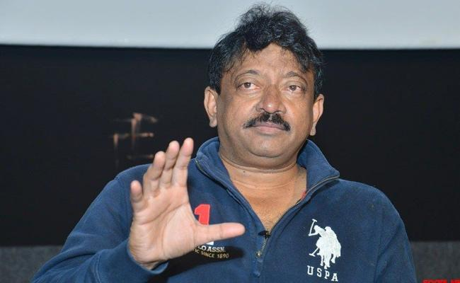 Ram Gopal Varma Press Meet About Lakshmis NTR - Sakshi