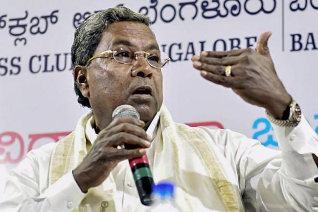 Siddaramaiah Hits Resign on June 1 Over Yeddyurappa Latest Prediction - Sakshi
