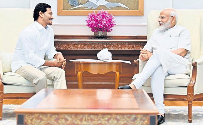 Meeting With YSRCP President YS Jagan Mohan Reddy Is Wonderful Said By PM Narendra Modi - Sakshi
