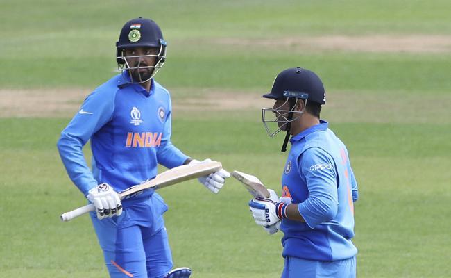 Ms Dhoni Rahul Scores Century in warm up match - Sakshi