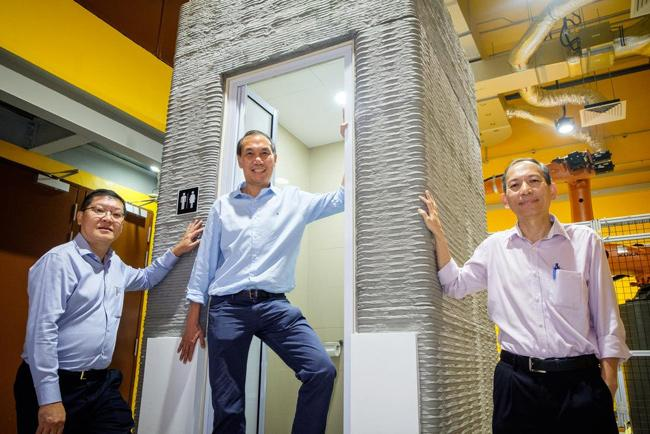 Researchers 3D Print Bathroom In a Day - Sakshi