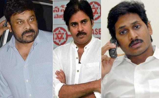 YS Jagan Invite Chiranjeevi, Pawan Kalyan His Swearing Ceremony - Sakshi