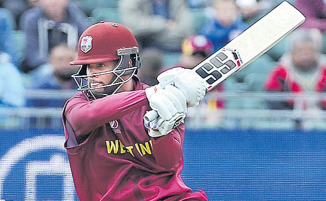 West Indies beat New Zealand by 91 runs in the World Cup practice - Sakshi