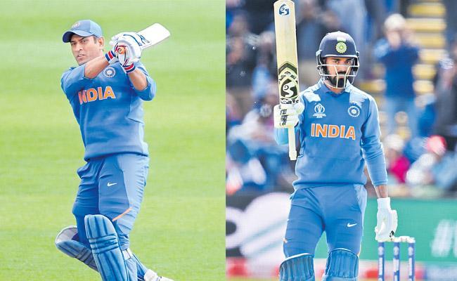Dhoni and Rahul power India to post 359 runs against Bangladesh - Sakshi
