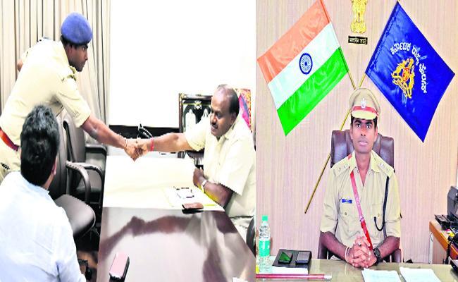 IPS Officer Resign His Job For Family in Karnataka - Sakshi