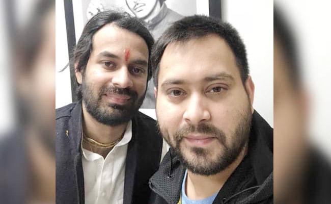 Tej Pratap Yadav Says He Stand By Tejashwi After RJD Loss - Sakshi