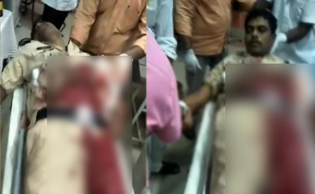 Suicide Attempt By Police Constable In Kamareddy - Sakshi