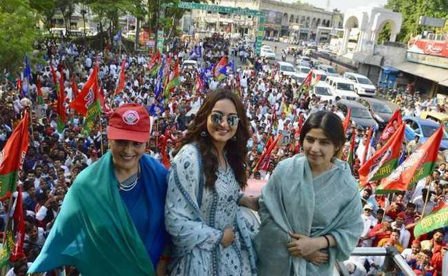 Sonakshi Sinha Campion For Her Mother Poonam Sinha In Lucknow - Sakshi