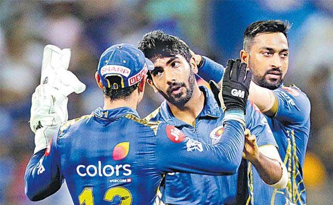 IPL 2019 Mumbai Seal the Super Over And Qualify For The Playoffs - Sakshi