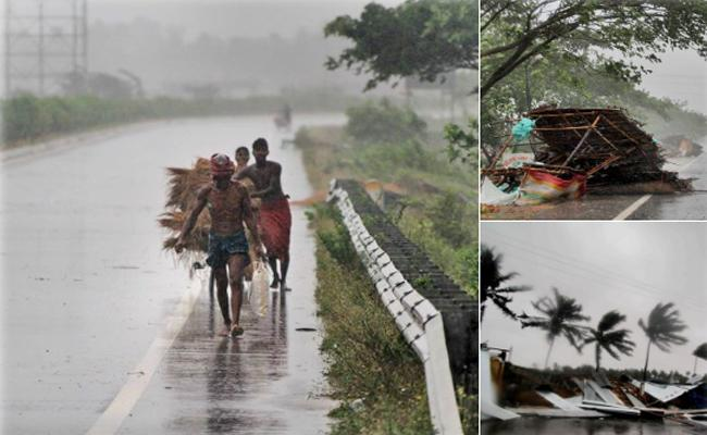 Impact of Cyclone Fani landfall at Puri, Odisha - Sakshi