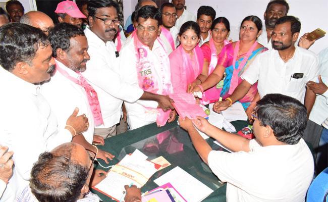 Telangana ZPTC And Third Phase Nomination Closed - Sakshi