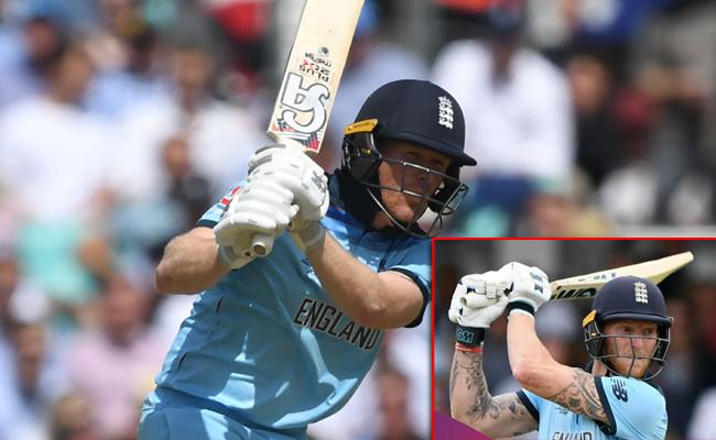 England Gets First Time four batsman scored 50 Plus Scores in a WC match - Sakshi