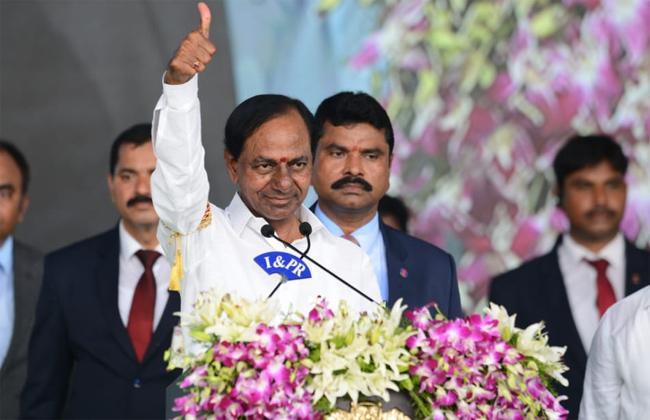 K Chandrashekar Rao Congratulates YS Jagan - Sakshi