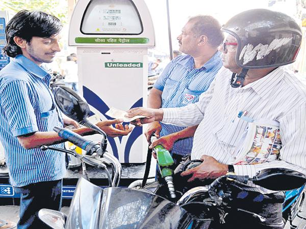 Petrol bunks under Agros - Sakshi