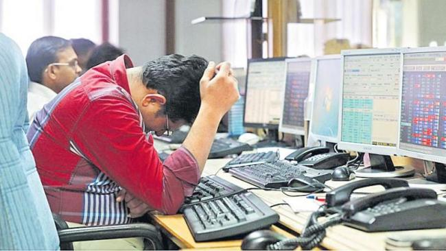 Sensex ends 247 points down, Nifty at 11861 - Sakshi