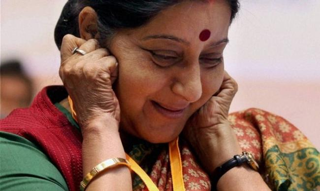Everyone sad on Twitter Over Sushma Swaraj exit as Foreign Minister - Sakshi