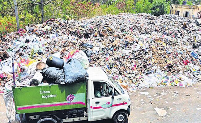 GHMC Action on Dumping Negligence - Sakshi