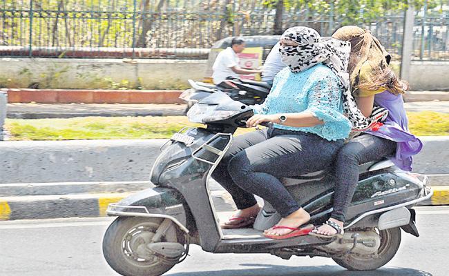 Temperature Rise in Hyderabad - Sakshi
