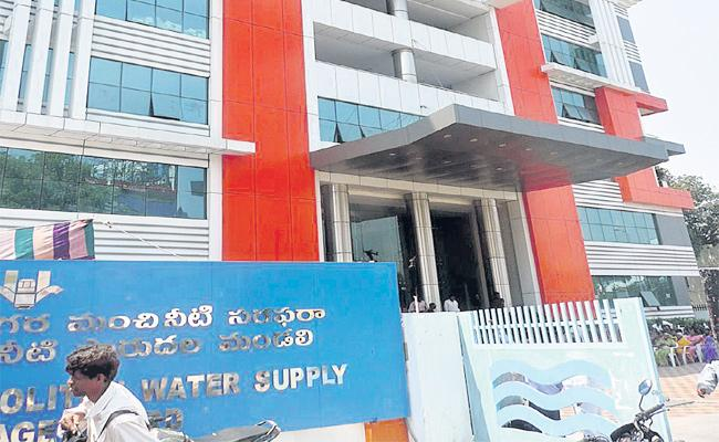 GHMC Water Board Negligence on Drinking Water Scheme - Sakshi
