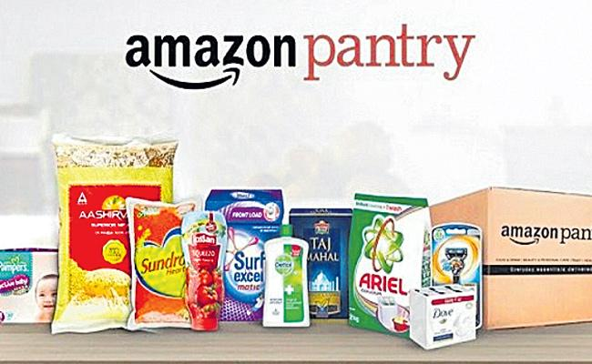 Pantry Services in Amazon India E Commerce - Sakshi