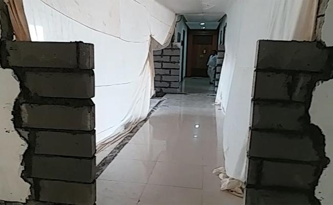 Changes In AP Secretariat First Block - Sakshi