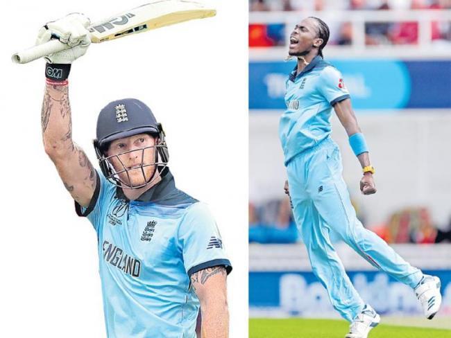 England beat South Africa by 104 runs - Sakshi