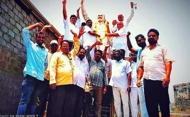 Vizianagaram People Celebrations With YS Jagan Schemes - Sakshi