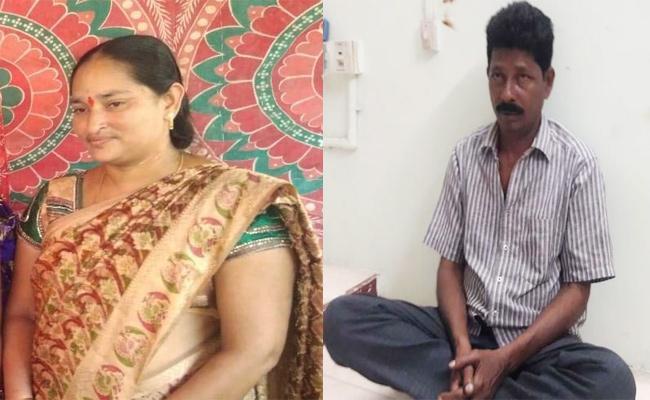 Husband Killed Wife in Krishna - Sakshi