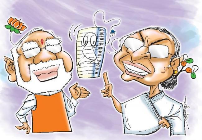narendra modi vs mamata banerjee in west bengal - Sakshi